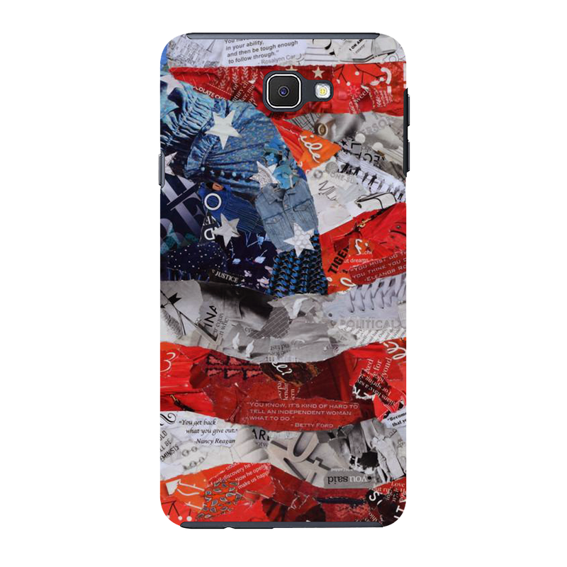 USA flag Samsung J7 Mobile Cover
