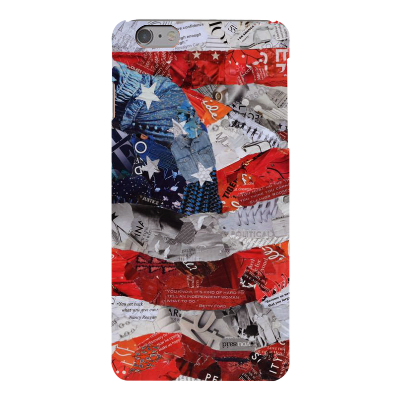 USA flag Apple iPhone 6s Plus Mobile Cover