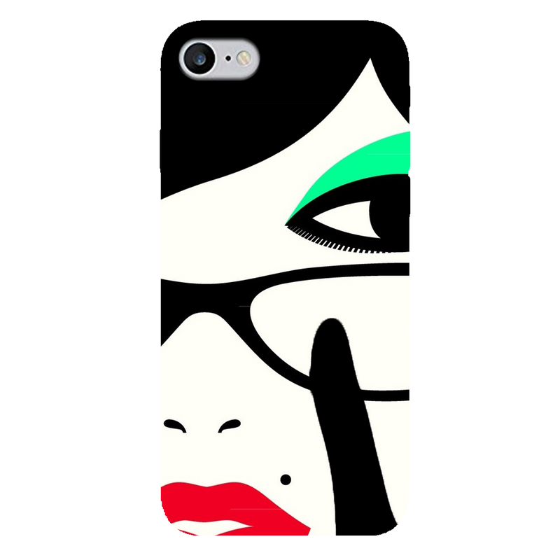 Vector face  iPhone 7 Mobile Cover