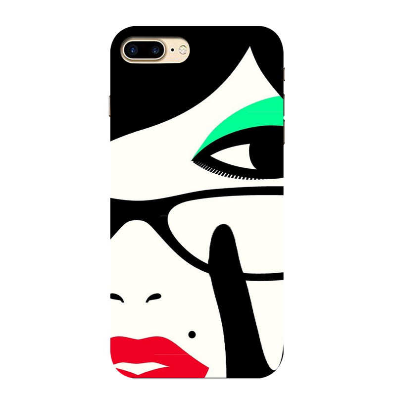 Vector face Apple iPhone 7 Plus Mobile Cover