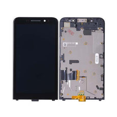 Mms LCD Touch Screen for BlackBerry Z30 - (Display Glass Combo Folder)