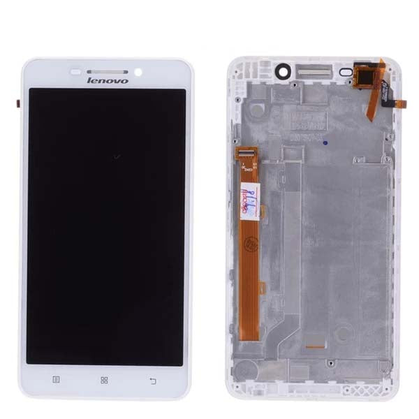 Mms LCD Touch Screen for Lenovo A5000 - (Display Glass Combo Folder)