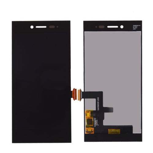 Mms LCD Touch Screen for Blackberry Leap Z20 - (Display Glass Combo Folder)