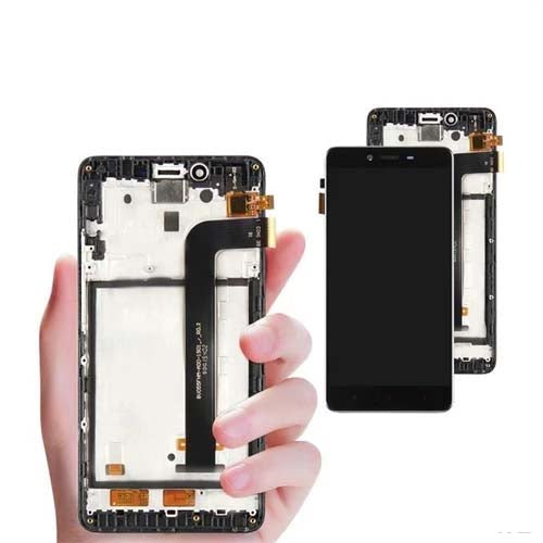 Mms LCD Touch Screen for Xiaomi Redmi Note 2 - (Display Glass Combo Folder)