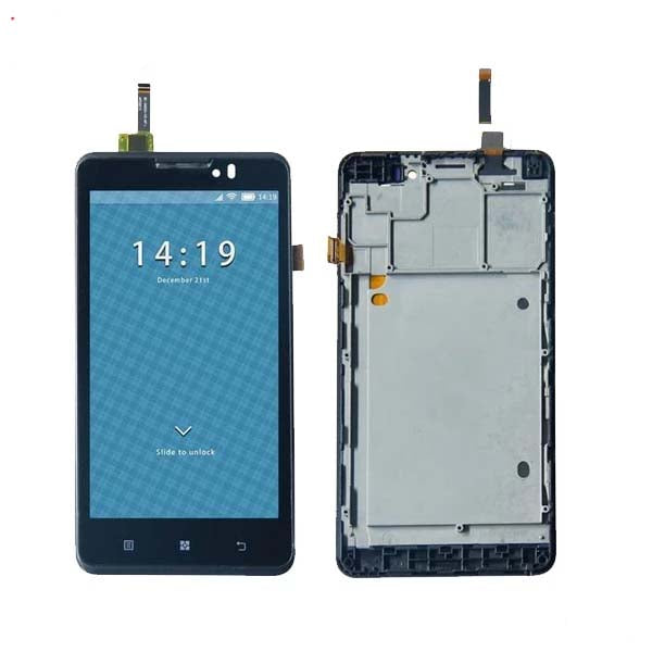 Mms LCD Touch Screen for Lenovo P780 - (Display Glass Combo Folder)