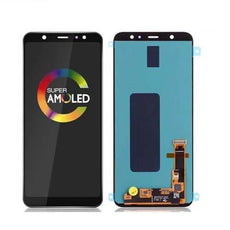 Mms LCD Touch Screen for Samsung Galaxy A6 Plus 2018 - (Display Glass Combo Folder)
