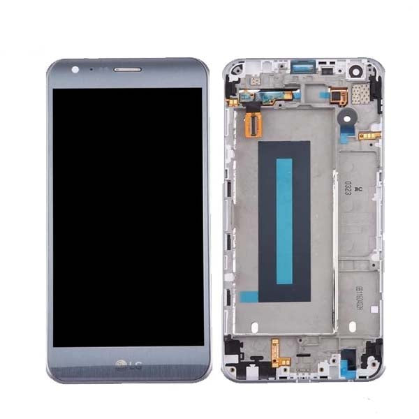Mms LCD Touch Screen for LG X Cam - (Display Glass Combo Folder)