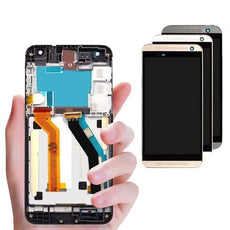 Mms LCD Touch Screen for HTC One E9 Plus - (Display Glass Combo Folder)