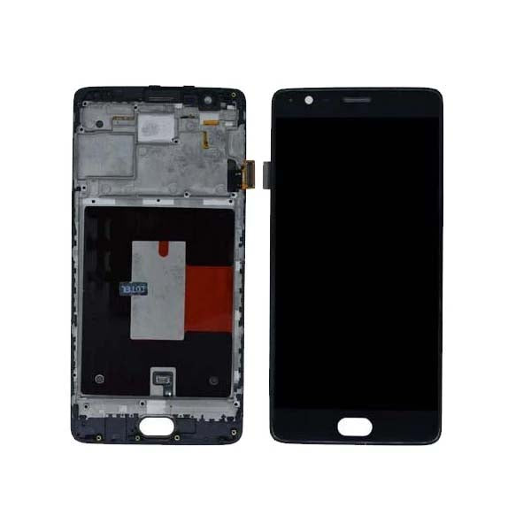 Mms LCD Touch Screen for For Oneplus 3 - (Display Glass Combo Folder)