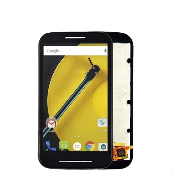 Mms LCD Touch Screen for Motorola Moto E - (Display Glass Combo Folder)