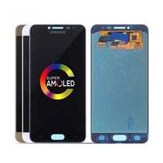 Mms LCD Touch Screen for Samsung Galaxy C5 - (Display Glass Combo Folder)