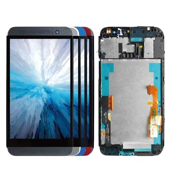 Mms LCD Touch Screen for HTC ONE E8 - (Display Glass Combo Folder)