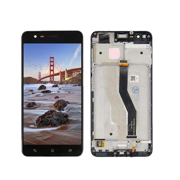 Mms LCD Touch Screen for ASUS Zenfone 3 Zoom - (Display Glass Combo Folder)