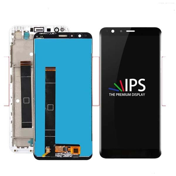 Mms LCD Touch Screen for ASUS ZenFone Max Plus - (Display Glass Combo Folder)