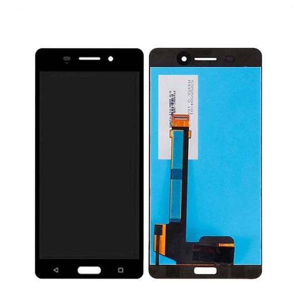 Mms LCD Touch Screen for Nokia 6 TA - (Display Glass Combo Folder)