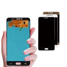 Mms LCD Touch Screen for Samsung Galaxy C7 - (Display Glass Combo Folder)