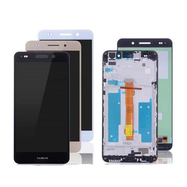 Mms LCD Touch Screen for HUAWEI Y6 - (Display Glass Combo Folder)