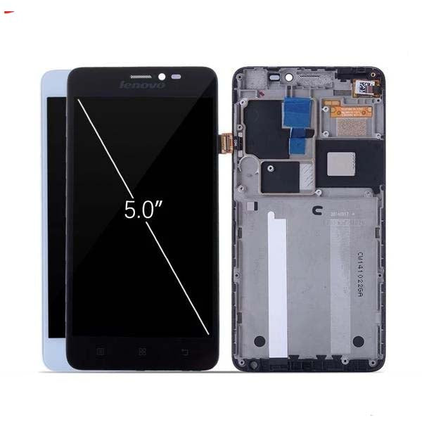 Mms LCD Touch Screen for Lenovo S850 - (Display Glass Combo Folder)