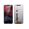 Mms LCD Touch Screen for Nokia 7.1 - (Display Glass Combo Folder)