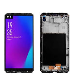 Mms LCD Touch Screen for LG V30 Plus - (Display Glass Combo Folder)