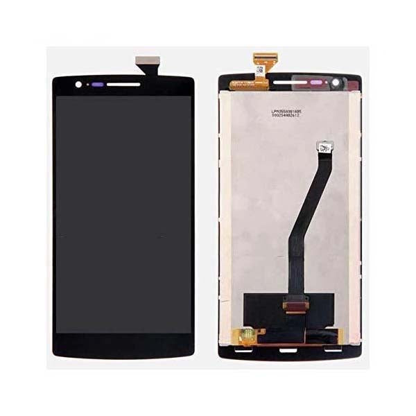 Mms LCD Touch Screen for For Oneplus One - (Display Glass Combo Folder)