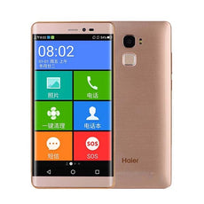 Mms LCD Touch Screen for Haier HM-I505-TL - (Display Glass Combo Folder)