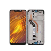 Mms LCD Touch Screen for Xiaomi Pocophone F1 - (Display Glass Combo Folder)