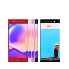 Mms LCD Touch Screen for Sony Xperia XZ1 - (Display Glass Combo Folder)