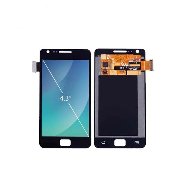 Mms LCD Touch Screen for Samsung Galaxy S2 - (Display Glass Combo Folder)