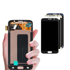 Mms LCD Touch Screen for Samsung Galaxy S6 - (Display Glass Combo Folder)