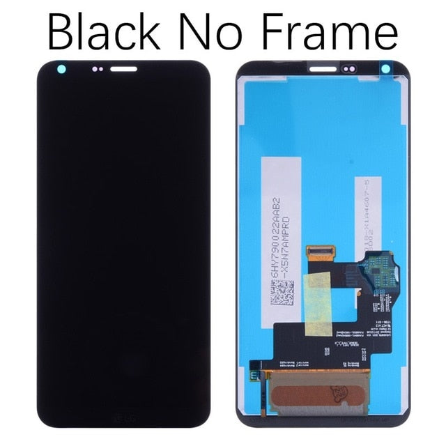 Mms LCD Touch Screen for LG Q6 - (Display Glass Combo Folder)