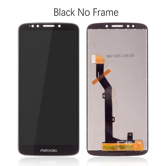Mms LCD Touch Screen for Moto G6 Play - (Display Glass Combo Folder)