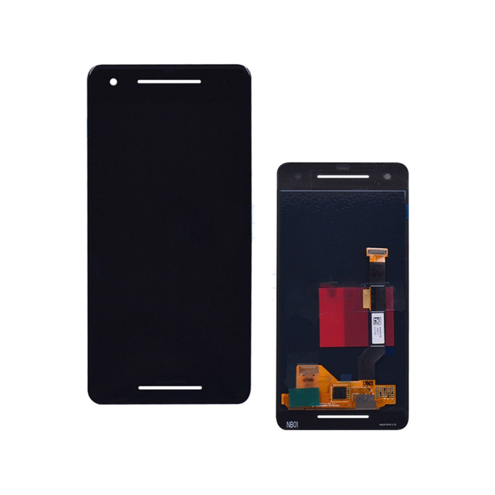 Mms LCD Touch Screen for Google Pixel 2 XL - (Display Glass Combo Folder)
