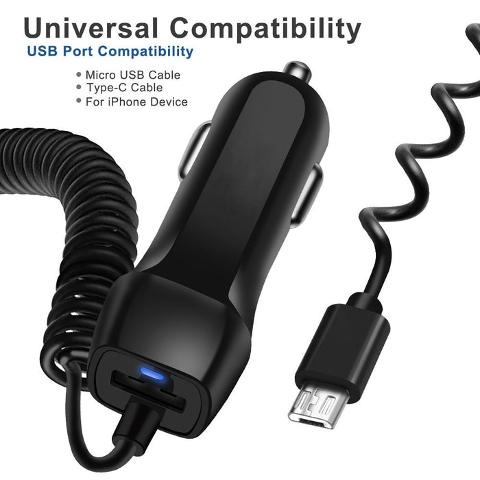 Retractable Cable Phone Charger