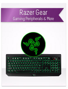Razer Gaming Gear, Mice, Keyboards, Headphones