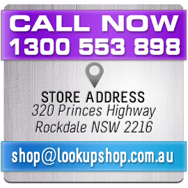 Contact Us 1300 553 898 address 320 Princes Highway Rockdale shop@lookupshop.com.au