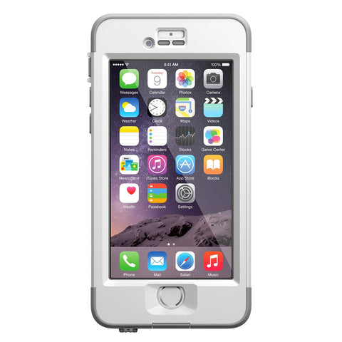 LifeProof iPhone 6 Nuud Case - Avalanche White