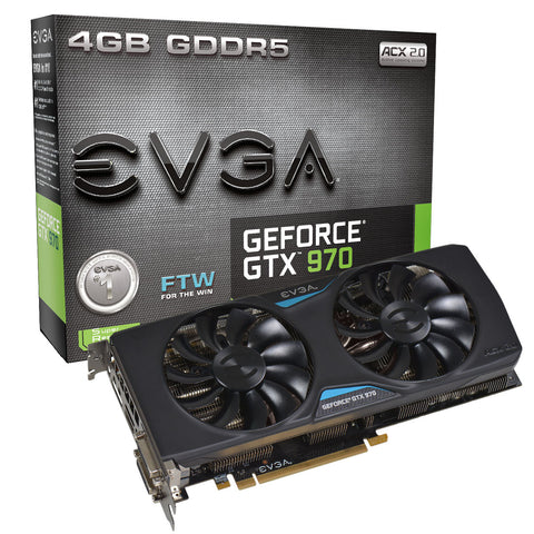 EVGA GeFORCE GTX 970 FTW ACX 2.0