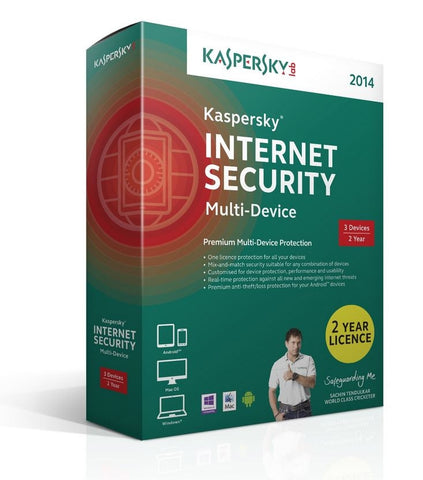 Kaspersky Internet Security Multi Device 2014 3 Devices 2 Year Retail
