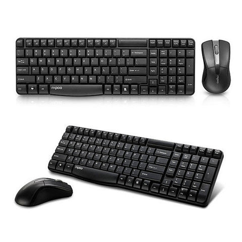 Rapoo X1800 Wireless Optical Keyboard Mice Combo Set