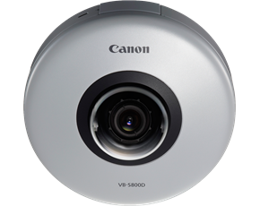 Canon VB-S800D Dome 2.1MP Indoor Compact Fixed Dome Security Camera