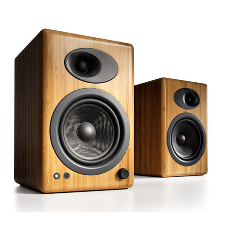 Audioengine 5+ Bamboo Premium Powered Speakers