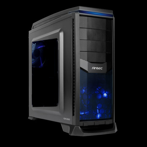 Antec GX300W Gaming Mid Tower Case with Standard ATX
