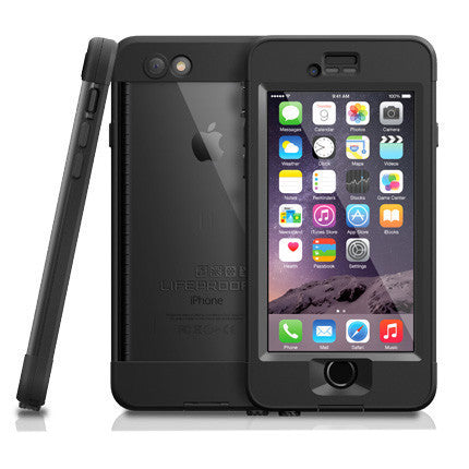 LifeProof iPhone 6 Plus Nuud Case - Black