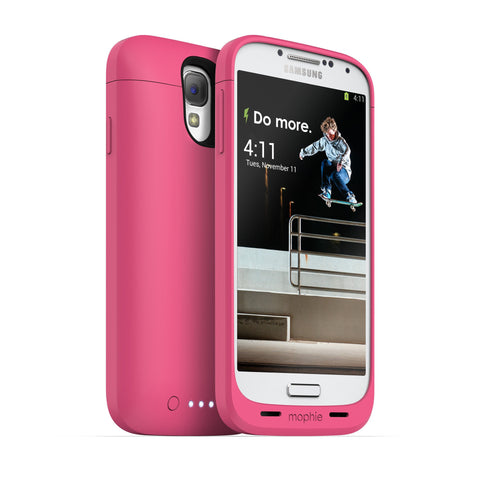 JUICE PACK FOR SAMSUNG GALAXY S4 PINK