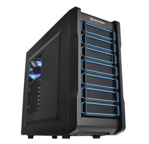 Thermaltake Chaser A21 Mid Tower PC Case in Black