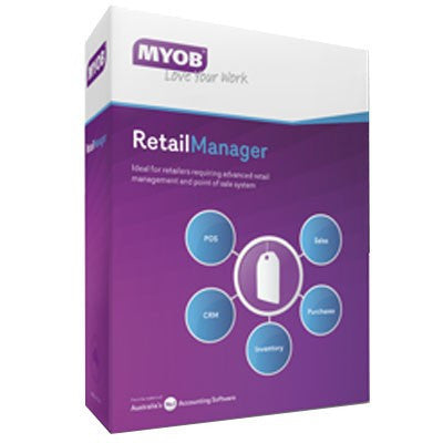 Retail Manager v12 (Price includes 12 months MYOB support)