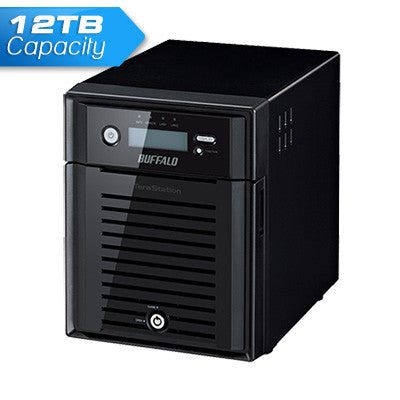Buffalo TeraStation 5400 4 Bay 12TB NAS with RAID for Home and Business