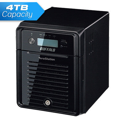 Buffalo TeraStation 3400 4Bay 4.0TB NAS For Home and Business