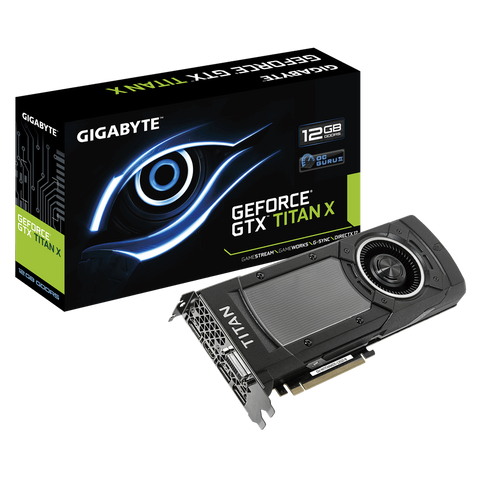 Gigabyte GeForce GTX TITAN X 12GB